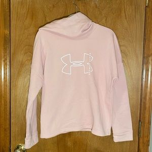 UNDER ARMOUR PINK FITNESS HOODIE💗